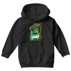 enchanted forest Youth Hoodie | Artistshot