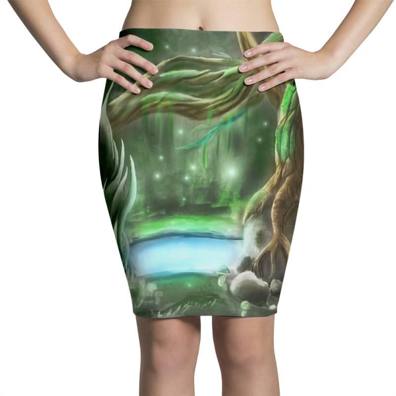Enchanted Forest Pencil Skirts | Artistshot