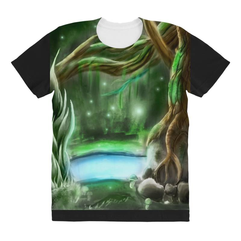 Enchanted Forest All Over Women's T-shirt | Artistshot