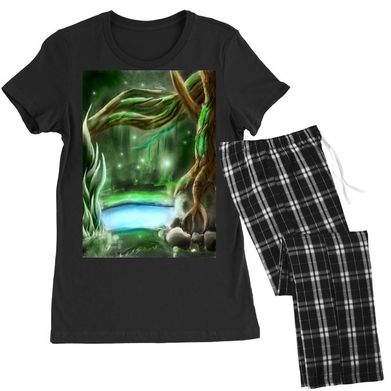 Enchanted Forest Women's Pajamas Set | Artistshot