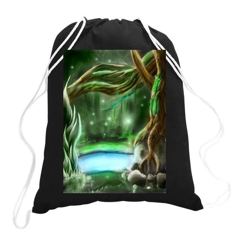 Enchanted Forest Drawstring Bags | Artistshot