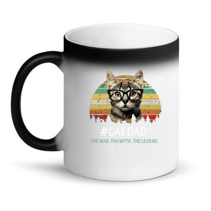 Cat Dad Magic Mug Designed By Hoainv