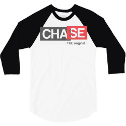 chase the original 3/4 Sleeve Shirt | Artistshot