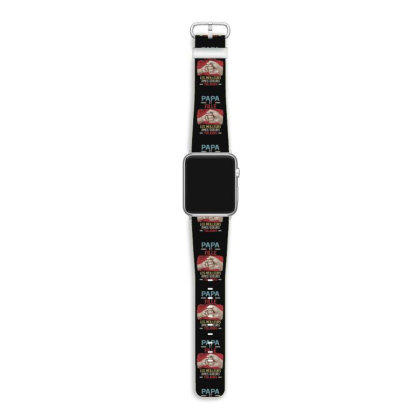 Daddy And Son Best Freakin Partner In Crime Ever Apple Watch Band Designed By Hoainv