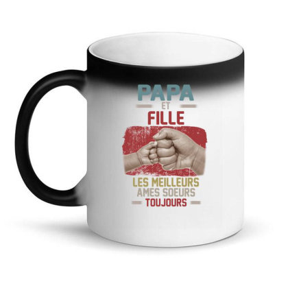 Daddy And Son Best Freakin Partner In Crime Ever Magic Mug Designed By Hoainv