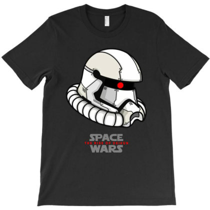 Space Wars T-shirt Designed By Vincefd