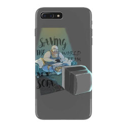 saving the world iPhone 7 Plus Case | Artistshot