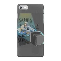 saving the world iPhone 7 Case | Artistshot