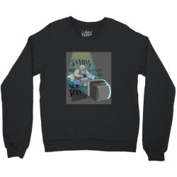 saving the world Crewneck Sweatshirt | Artistshot