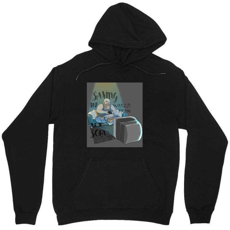 Saving The World Unisex Hoodie | Artistshot
