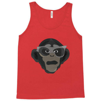 Chimpanzee Tank Top Designed By Rococodesigns