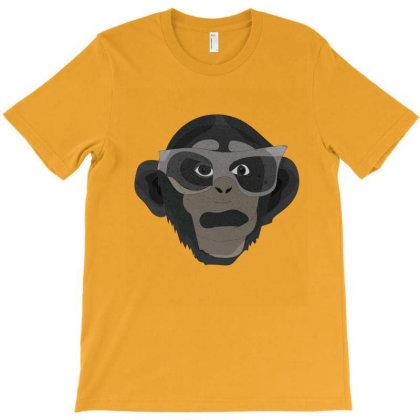 Chimpanzee T-shirt Designed By Rococodesigns