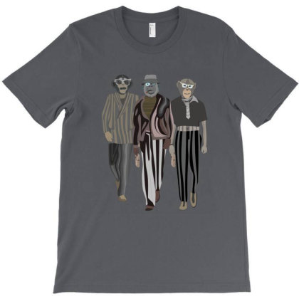 The Fashionable Chimps T-shirt Designed By Rococodesigns