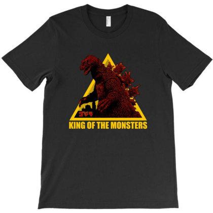 Godzilla T-shirt Designed By Gomskyartstudio