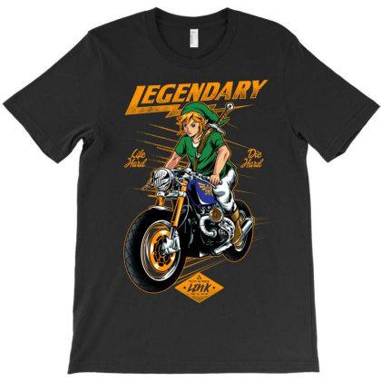 Green Vagabond T-shirt Designed By Spoilerinc