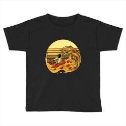 pizza wave Toddler T-shirt | Artistshot