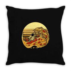 pizza wave Throw Pillow | Artistshot
