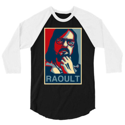 Didier Raoult 3/4 Sleeve Shirt Designed By Gomskyartstudio