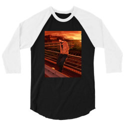 Anime Boy (Low Poly Abstract) FanArt 3/4 Sleeve Shirt | Artistshot