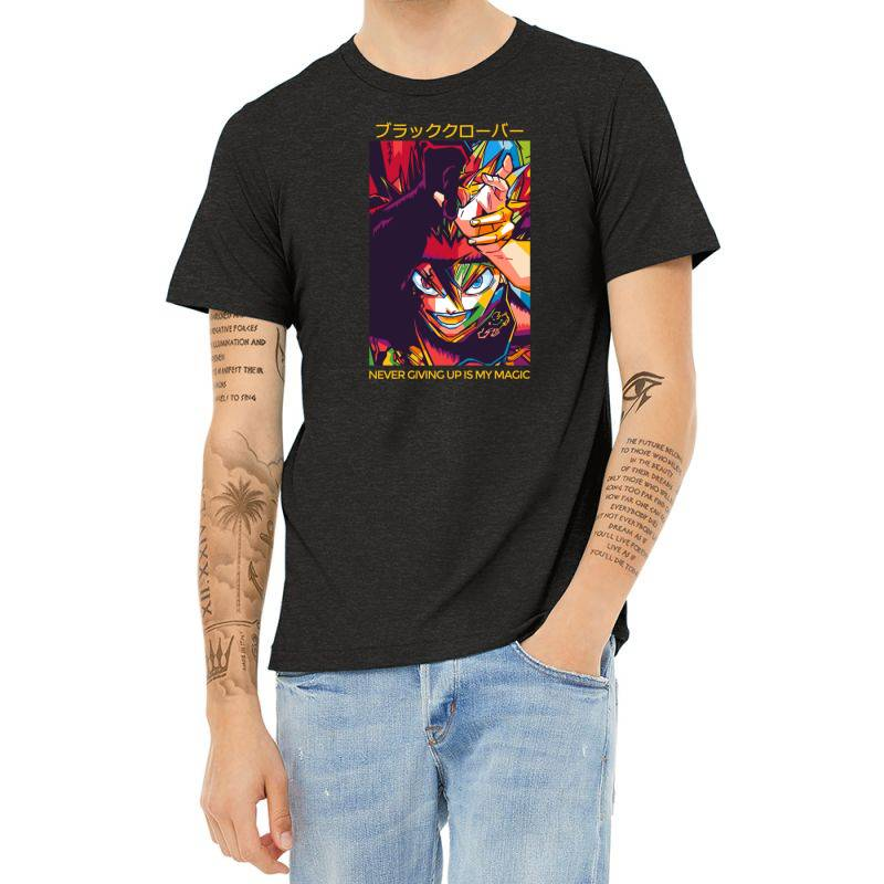 Demon Asta Heather T-shirt | Artistshot