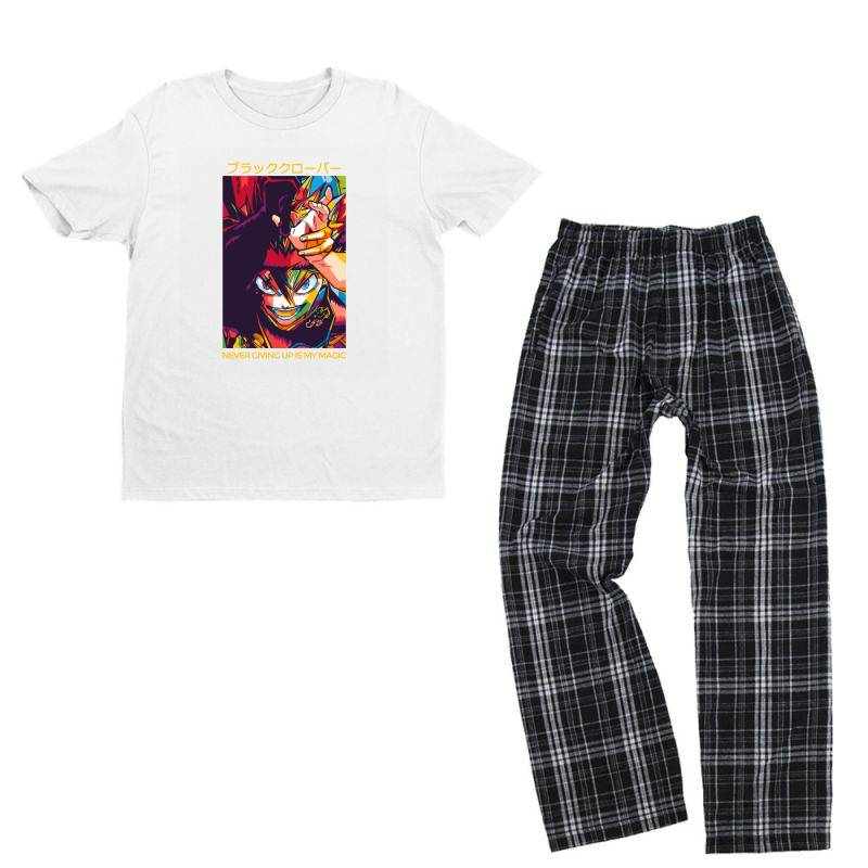Demon Asta Youth T-shirt Pajama Set | Artistshot