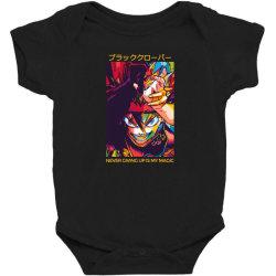 Demon Asta Baby Bodysuit | Artistshot