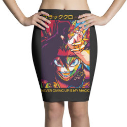 Demon Asta Pencil Skirts | Artistshot