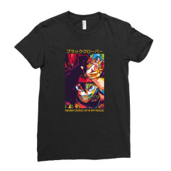 Demon Asta Ladies Fitted T-Shirt | Artistshot