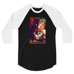 Demon Asta 3/4 Sleeve Shirt | Artistshot