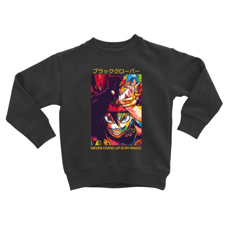 Demon Asta Toddler Sweatshirt | Artistshot