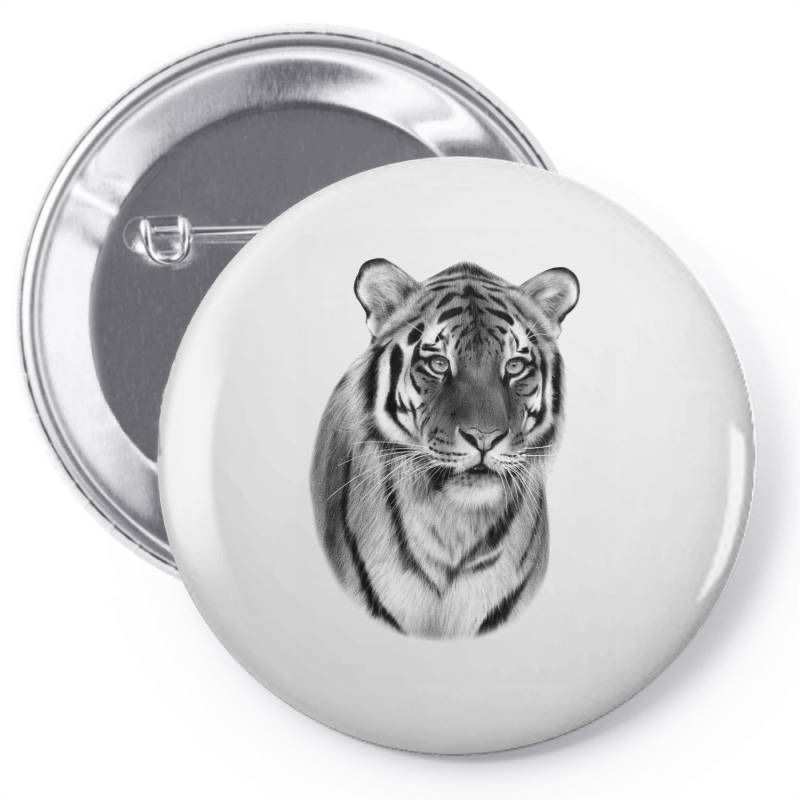 Tiger Pin-back Button | Artistshot