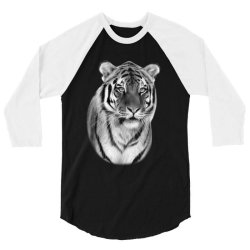 Tiger 3/4 Sleeve Shirt   Artistshot