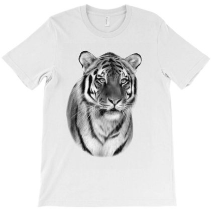 Tiger T-shirt Designed By Animalpaintings
