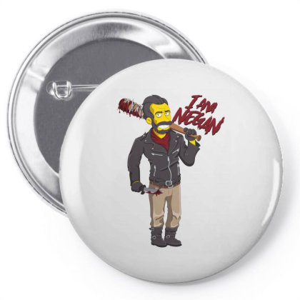 Negan Simpson Pin-back Button Designed By Fr47