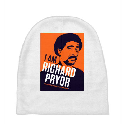 I Am Richard Pryor Baby Beanies Designed By Rasyid_indra14