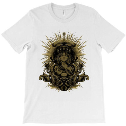 The Queen Of Seeds T-shirt Designed By Seratus.studio