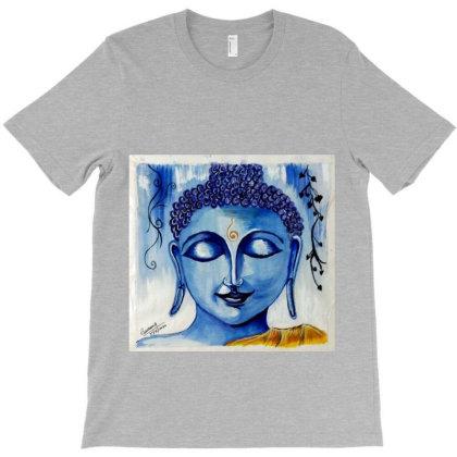 Buddha 1 T-shirt Designed By Vakil