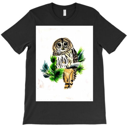 Owl 1 T-shirt Designed By Vakil