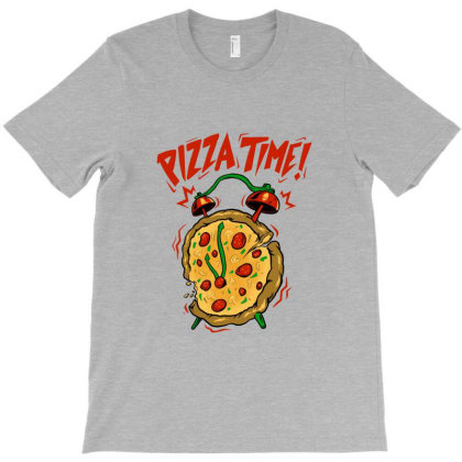 Pizza Time T-shirt Designed By Spoilerinc