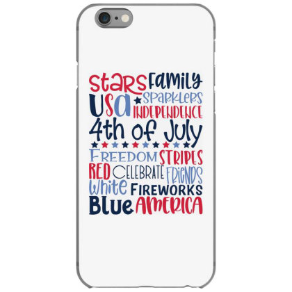 4th Of July Subway Art Iphone 6/6s Case Designed By Tiococacola