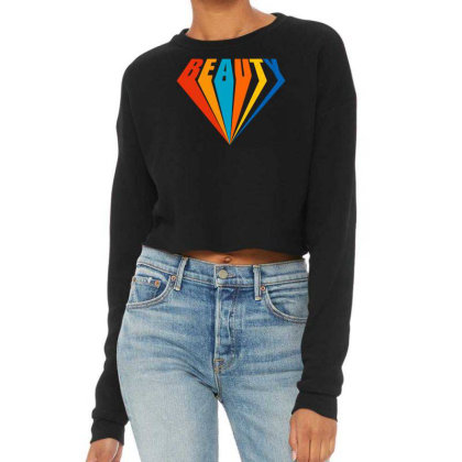 Beauty Af Cropped Sweater Designed By Tiococacola