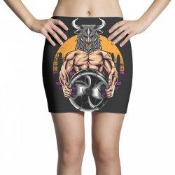 bull gym Mini Skirts   Artistshot