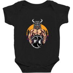 bull gym Baby Bodysuit | Artistshot