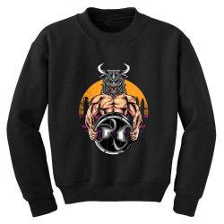 bull gym Youth Sweatshirt | Artistshot