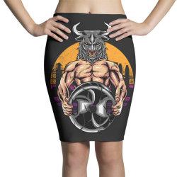 bull gym Pencil Skirts   Artistshot