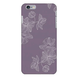 Purple Floral iPhone 6 Plus/6s Plus Case | Artistshot