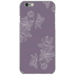 Purple Floral iPhone 6/6s Case | Artistshot