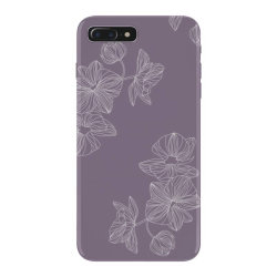 Purple Floral iPhone 7 Plus Case | Artistshot