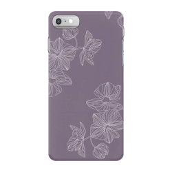 Purple Floral iPhone 7 Case | Artistshot