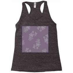 Purple Floral Racerback Tank | Artistshot